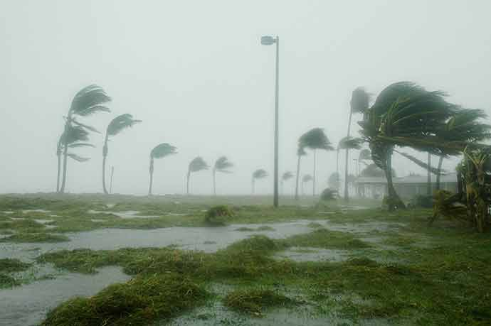 Lakeland during Hurricane Irma.