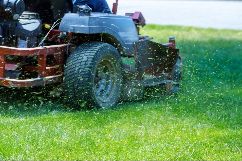 Residential lawn mowing service in Auburndale, Florida